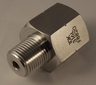 10K NPT F/M Adaptor 316 S/S