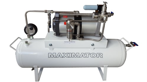 Maximator _Air _Amplifier _System _13_Bar _60_Litre _Receiver