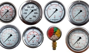 Maximator Bourdon Tube Pressure Gauges