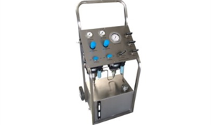 Hydrostatic Testing Equipment - Mobile Trolley Option