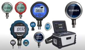 Digital Pressure Gauges and Calibration Equipment