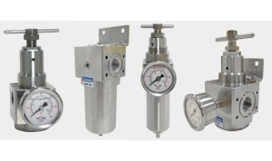 Stainless Steel Compressed Air Line Filter Regulators, Filters and Regulators