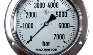 MPG-160P Panel Mount Pressure Gauge