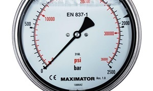 MPG-160D Bottom Mount Pressure Gauge
