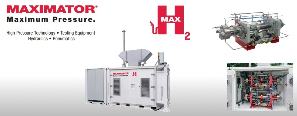 Maximator - Experts In Hydrogen for over 20 Years